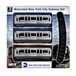 MTA Motorized Subway Train Set