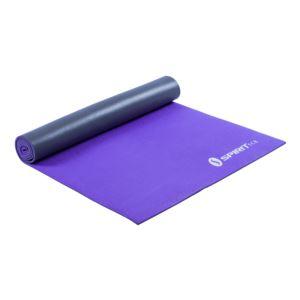"Yoga Mat 24"" x 69"" x 6mm Lavender/Silver"