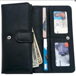 Ladies Solid Leather Wallet