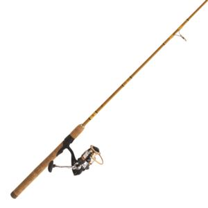 """Crafted Glass Spinning Combo 6'6"""" 2 Pc. M"""