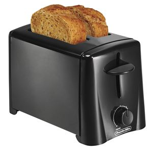 2 Slice Toaster Black
