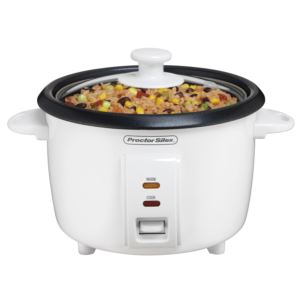 8 Cup Rice Cooker w/ Glass Lid
