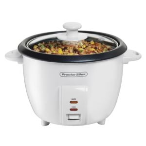 10 Cup Rice Cooker w/ Glass Lid