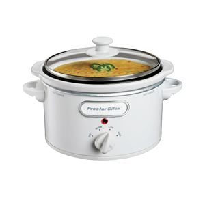 Portable 1.5 Qt. Oval Slow Cooker
