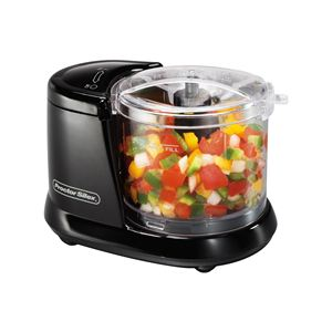 1.5 Cup Food Chopper Black