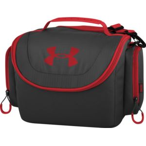 12 Can Insulated Cooler Black/Red
