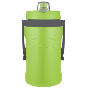 Foam Insulated 64oz Hydration Bottle w/ Push Button Lid Green