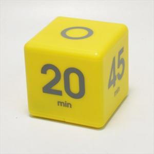 Preset Cube Timer -5 - 10 - 20 - 45 min.