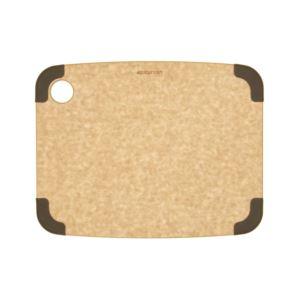 "Non- Slip Cutting Board: Natural/Brown Corners 11.5"" Ч 9"""