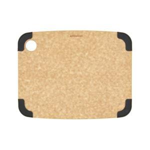 "Non- Slip Cutting Board: Natural/Slate Corners 11.5"" Ч 9"""