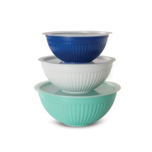 6 Piece Covered Mixing Bowl Set