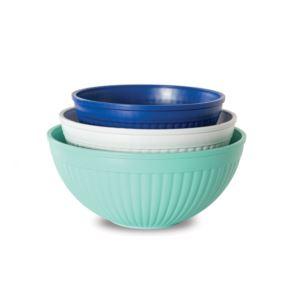 3 Piece Prep & Serve Mixing Bowls