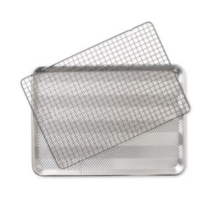 Prism Half Sheet with Oven-Safe Nonstick Grid