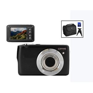 16 MP Digital Camera Kit Black