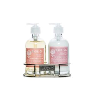 Barr-Co. Lotion/Soap Caddy Duo - Honeysuckle 8 oz