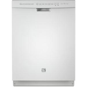 "Elite 24"" Built-In Dishwasher-White"