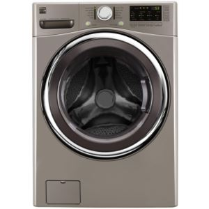 4.5 cu.ft. Front-Load Washer w/Accela Wash-Metallic Silver