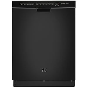 """Elite 24"""" Built-In Dishwasher-Black"""
