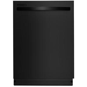 """24"""" Built-In Dishwasher w/PowerWave Spray Arm-Black"""