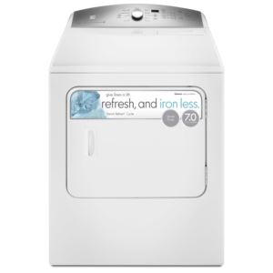 7.0 cu.ft. Electric Dryer-White