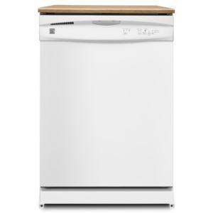 "24"" Portable Dishwasher-White"