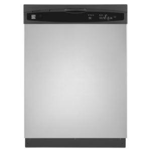 "24"" Built-In Dishwasher-Stainless Steel"