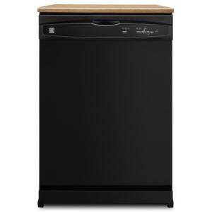 "24"" Portable Dishwasher-Black"