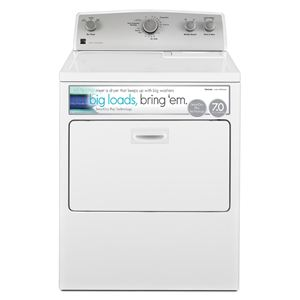 7.0 cu.ft. Electric Dryer w/SmartDry Plus