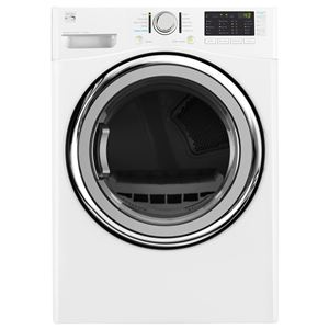 7.4 cu.ft. Electric Steam Dryer-White