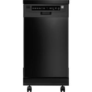 "18"" Portable Dishwasher-Black"