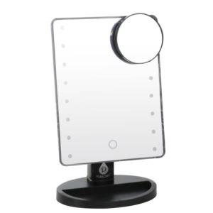 LED Vanity Mirror w/5x detachable mirror