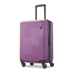 "American Tourister Stratum XLT  20"" Hardside Spinner - Power Plum"