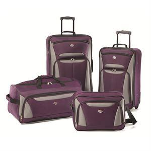 Fieldbrook2 Four-Piece Set in Purple/Grey