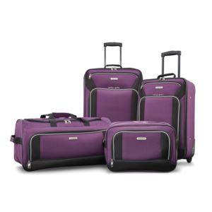 Fieldbrook Xlt 4Pc Set (Bb/ Wh Dfl/ 21/25 Upright) - Purple/Black