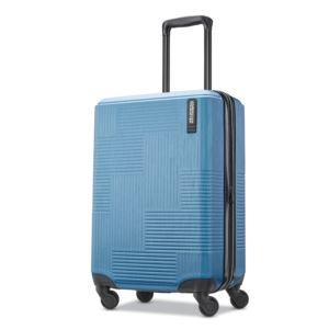 """American Tourister Stratum XLT  20"""" Hardside Spinner - Blue Spruce"""