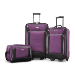 Fieldbrook Xlt 3Pc Set (Bb/ 21/25 Upright) - Purple/Black