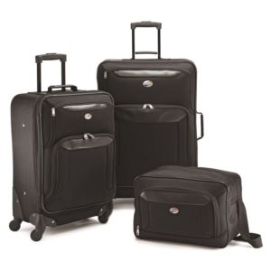 American Tourister Brookfield 3-piece set in Black