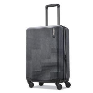 """American Tourister Stratum XLT  20"""" Hardside Spinner - Jer Black"""