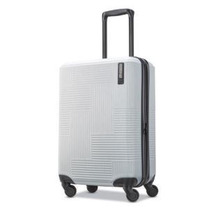 "American Tourister Stratum XLT 20"" Hardside Spinner - Bright Silver"