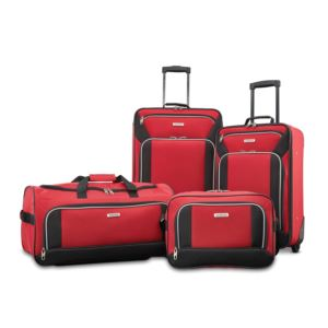 Fieldbrook Xlt 4Pc Set (Bb/ Wh Dfl/ 21/25 Upright)-Red/Black
