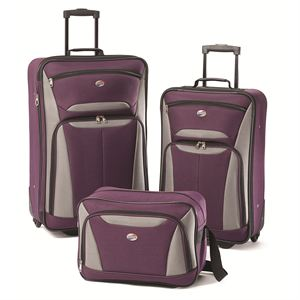 Fieldbrook2 Three-Piece set in Purple/Grey