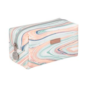 Stephanie Johnson - Santa Fe Iris Small Cosmetic Case - Turquoise Drift