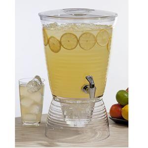 2.5-Gallon Clear Beverage Dispenser