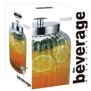 Glass Sun Tea Beverage Dispenser - (5L 1.3 Gal)