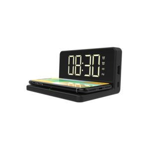 Fast Wireless Charger w/ Alarm Clock