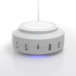 ChargeHub X5 Elite 3005 5 Port USB Charger - (White)