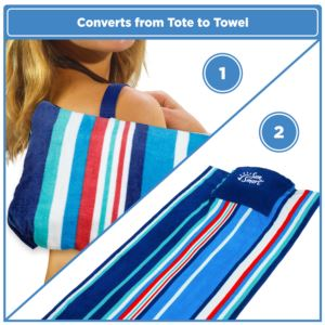 Portable Beach Towel & Pillow-Adult