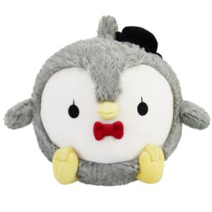 "7"" Mini Fancy Penguin Squishable Plush Ages 3+ Years"