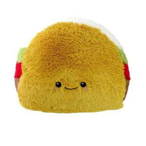 "15"" Taco Squishable Plush Ages 3+ Years"