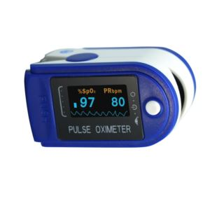 Fingertip Pulse Oximeter - (Blue)